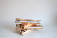 Mini Reclaimed Cigar Box Books. By Sprouts Press http://etsy.me/1clDBkx