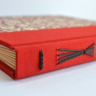 Red Florentine Album. By Sprouts Press http://etsy.me/NvYfIE
