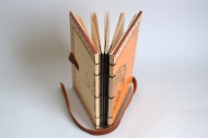 Hand Bound Cigar Box Journal. By Sprouts Press http://etsy.me/1fSqcBx