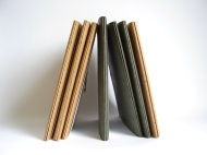 Simple Hand Bound Journals. By Sprouts Press http://etsy.me/1euPFzX