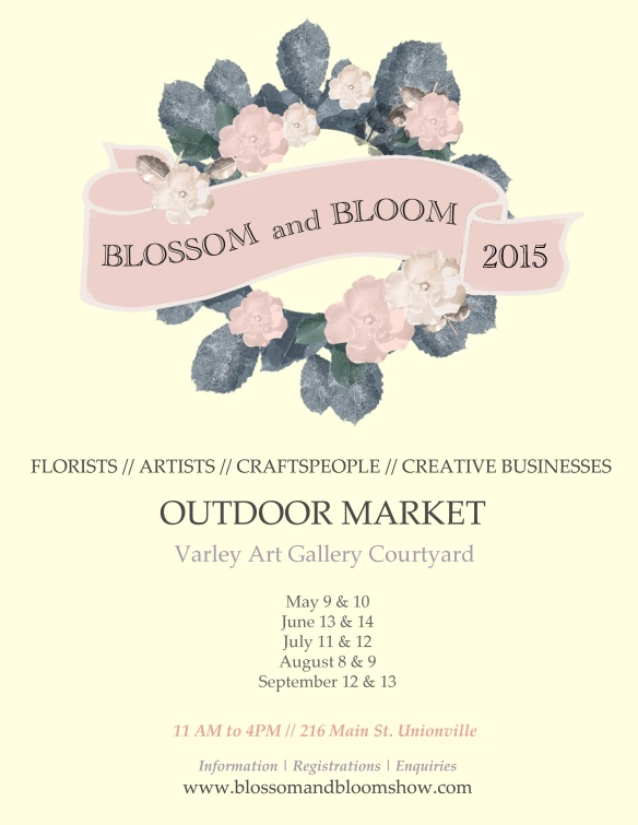 Blossom and Bloom Poster