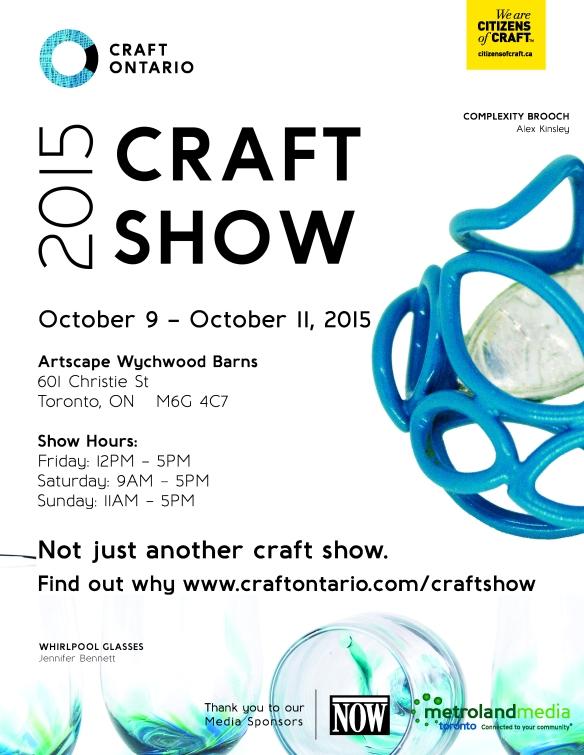 CraftOntario_2015CraftShow_Poster_JPG
